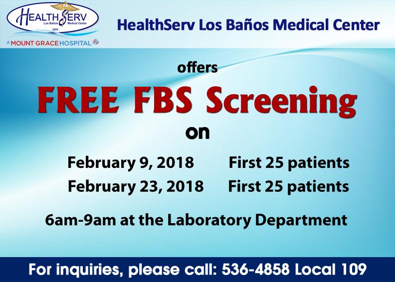 FREE FBS FEB 9 2018