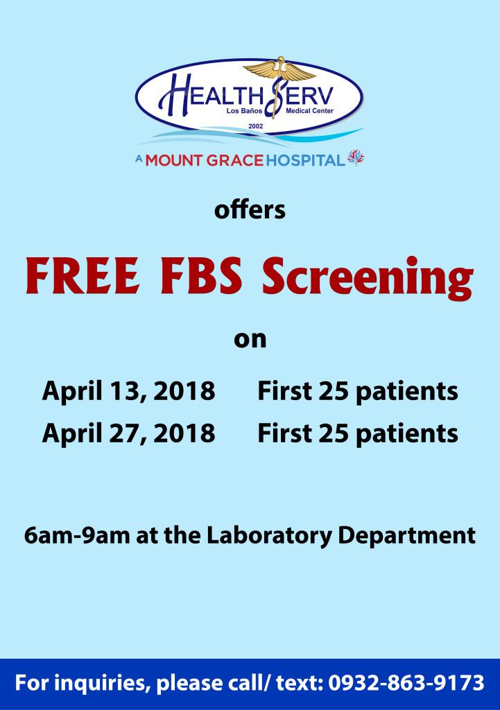Free FBS - April
