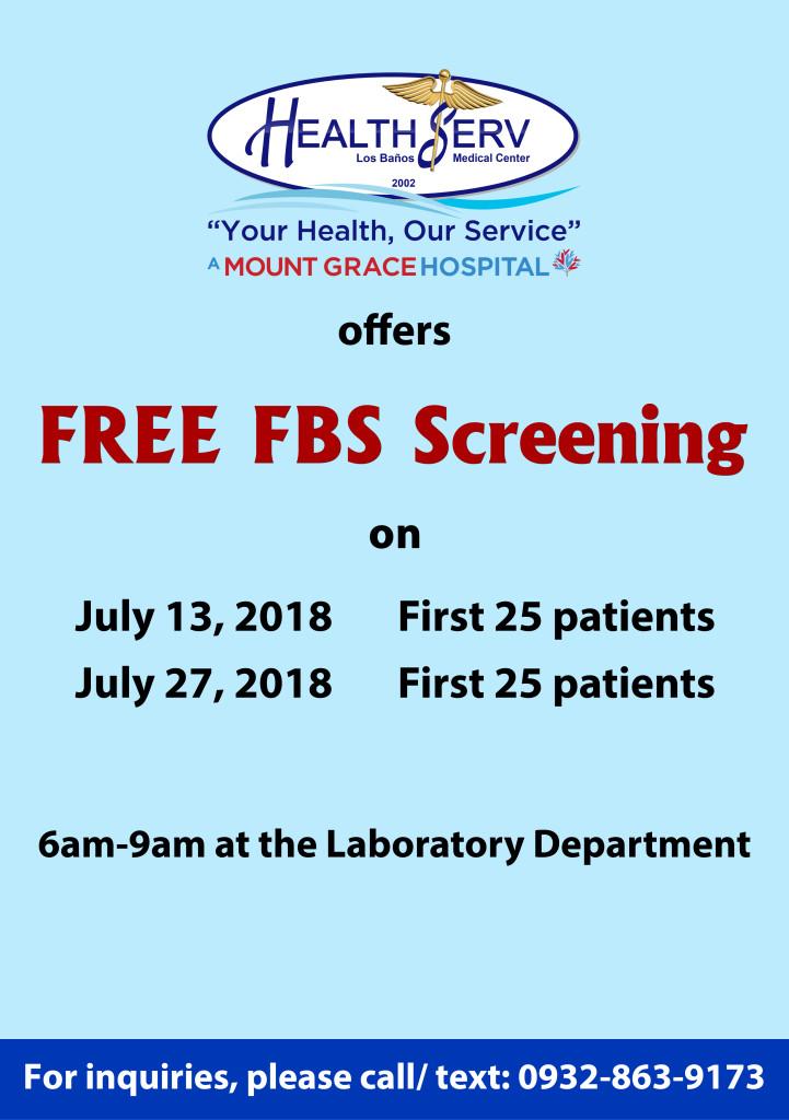 Free FBS - July 2018