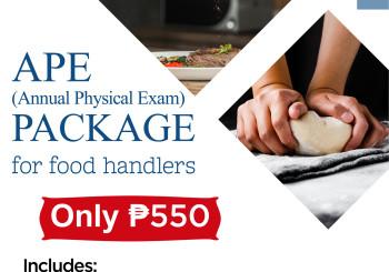 APE PACKAGE for Food Handlers
