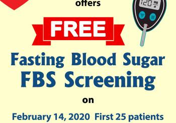 FREE FBS Screening