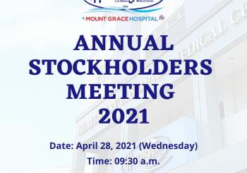 ANNUAL STOCKHOLDERS MEETING 2021